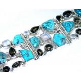 Britney Sterling Silver Quartz  Bracelet