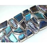 Labradorite Silver Bracelet