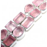Abbey Sterling Silver Quartz  Bracelet