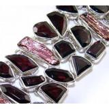 Kaydence Sterling Silver Quartz  Bracelet