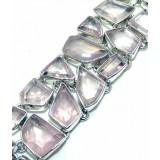 Isla Sterling Silver Quartz  Bracelet