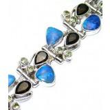 Meadow Sterling Silver Quartz  Bracelet