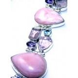 Jakayla Sterling Silver Amethyst  Bracelet
