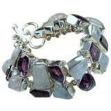 Moonstone Silver Bracelet