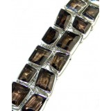 Norah Sterling Silver Quartz  Bracelet