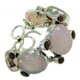 Nadia Sterling Silver Quartz  Bracelet