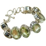 Emery Sterling Silver Quartz  Bracelet