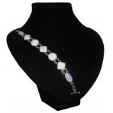 Gotas Lavender Jade Bracelet