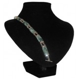 Halais Green Jaguar Jade Bracelet