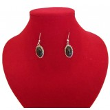 Hugo Black Jade Earrings
