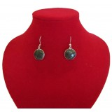 Pepe Green Traditional Jade Earrings