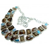 Willow Sterling Silver Gemstone  Necklace