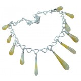 Vivienne Sterling Silver Onyx  Necklace