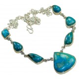 Aleah Sterling Silver Gemstone  Necklace