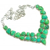 Sophia Sterling Silver Turquoise  Necklace
