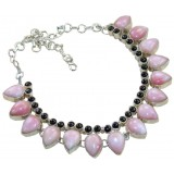 Annie Sterling Silver Gemstone  Necklace