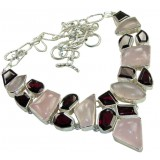 Quartz Silver Necklace
