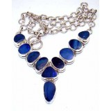 Piper Sterling Silver Opal  Necklace