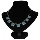 Chica Deep Blue Jade Necklace