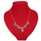 Classic deep Blue Jade Necklace