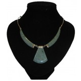 Colmillo Green Water Jade Necklace