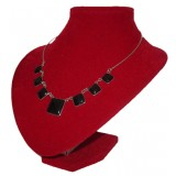 Cuadros Black Jade Necklace