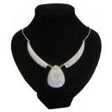 Gem Lavender Jade Necklace