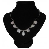 Gotas Lavender Jade Necklace
