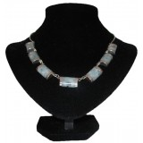 Halais Light blue Jade Necklace