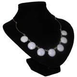 Pelotas Lavender Jade Necklace
