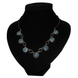 Reina Deep Blue Jade Necklace
