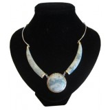 Sol Light Blue Jade Necklace