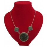 Waca Green Traditional Jade Necklace