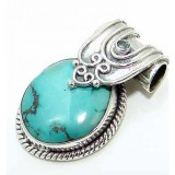 Allison Sterling Silver Turquoise