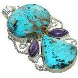 Gemstone Silver Pendant