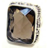 Anna Sterling Silver Quartz  Ring