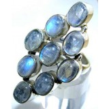 Kaliyah Sterling Silver Moonstone  Ring