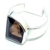 Angelique Sterling Silver Quartz  Ring