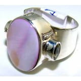 Tatum Sterling Silver Opal  Ring