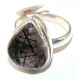 Justice Sterling Silver Quartz  Ring