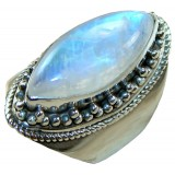 Eve Sterling Silver Moonstone  Ring