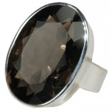 Johanna Sterling Silver Quartz  Ring