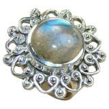 Samara Sterling Silver Labradorite  Ring