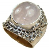 Laney Sterling Silver Quartz  Ring