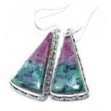 Kinsey Sterling Silver Gemstone  Earrings