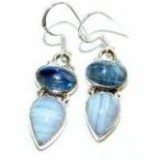 Alyvia Sterling Silver Gemstone  Earrings