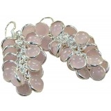 Janessa Sterling Silver Quartz  Earrings