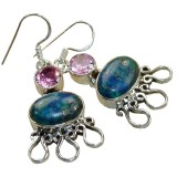 Moriah Sterling Silver Lapis  Earrings