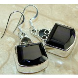 Cindy Sterling Silver Quartz  Earrings