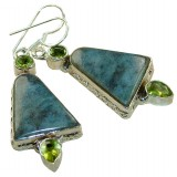 Araceli Sterling Silver Labradorite  Earrings